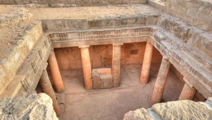 Πιθανά ταυτοποιήθηκε   ο τάφος - Μαυσωλείο  του Έλληνα πρίγκηπα Πτολεμαίου Ευπάτωρα ..