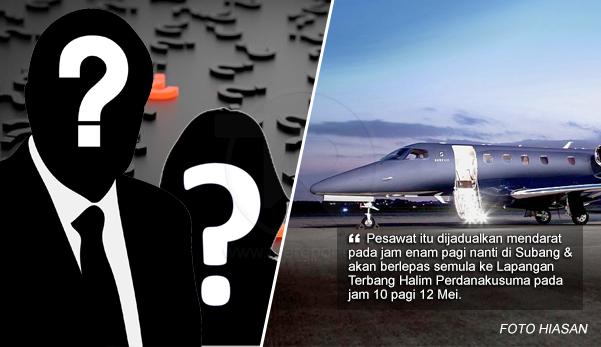 2 bekas pemimpin Malaysia akan terbang ke Indonesia?
