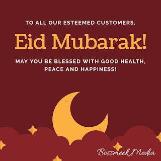 Barka Da Sallah To All Our Celebrating Readers