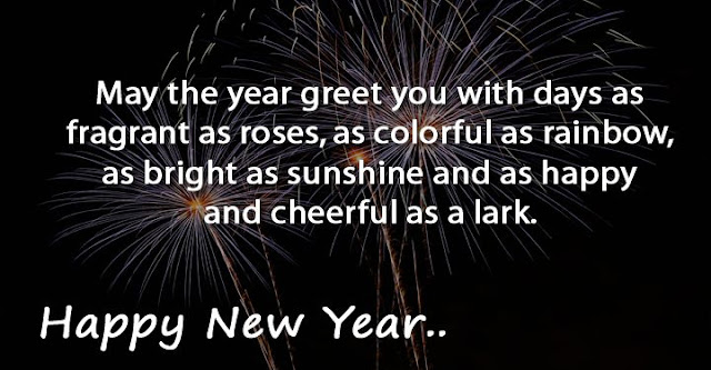 New Year Greeting Card For Best Friend