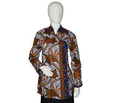 Model Seragam Baju Batik Guru Modern