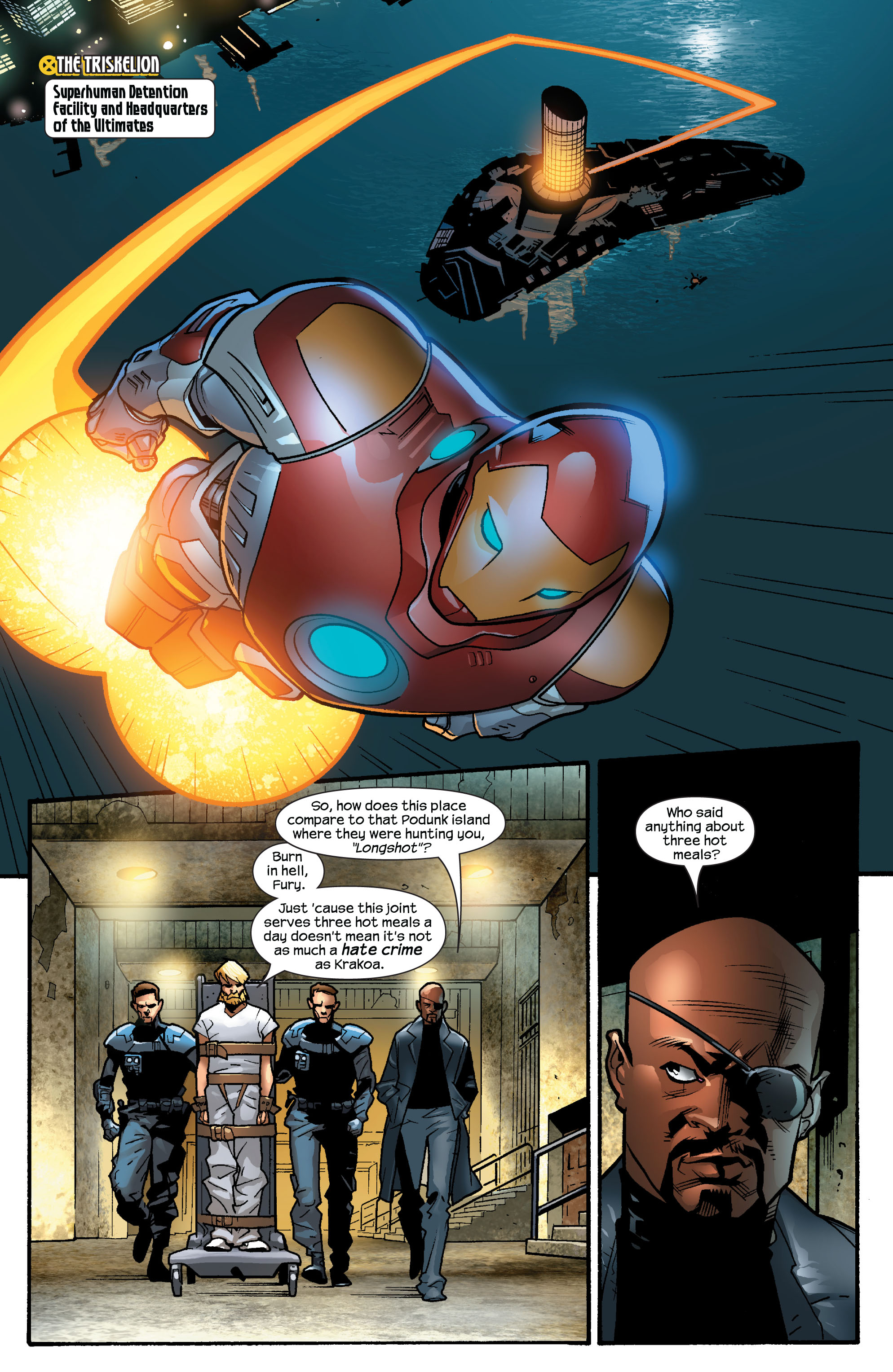 Read online Ultimate X-Men comic -  Issue #63 - 6
