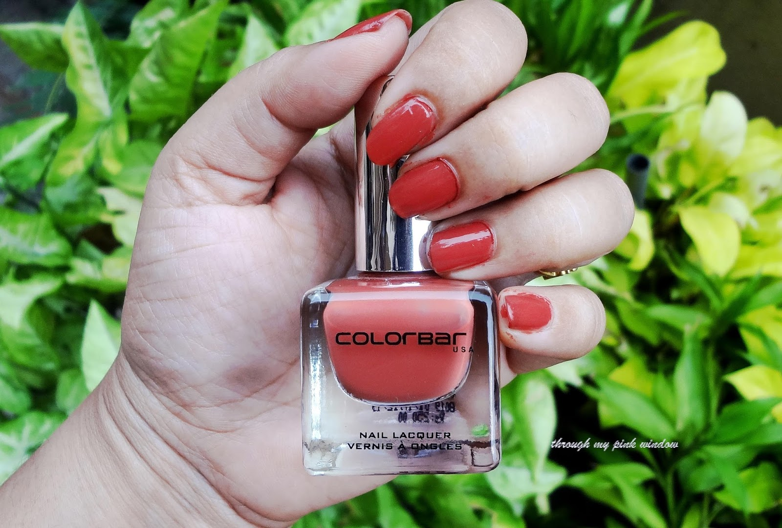 Colorbar Luxe Nail Lacquer in Shade 81 Over the Top : Review and ...
