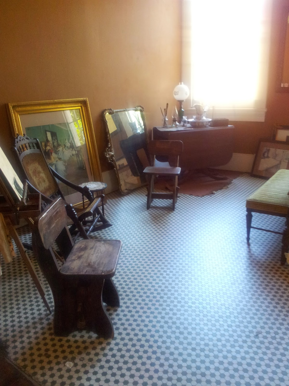Edgar Degas' bedroom - Degas House, New Orleans