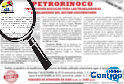 Personal jubilado beneficiado a través del Programa Petrorinoco