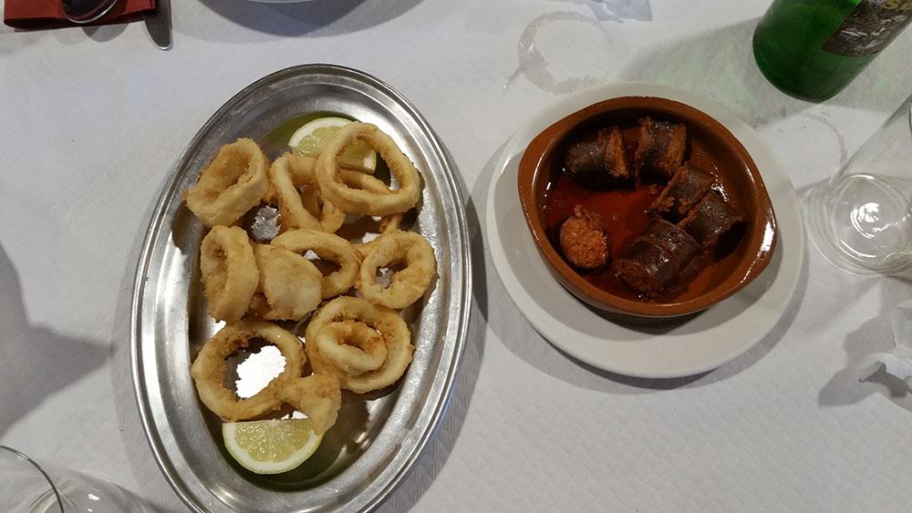 Casa Segundo Gijón, comida