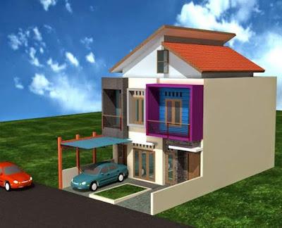 Model Atap Rumah Minimalis 1 & 2 Lantai Sederhana