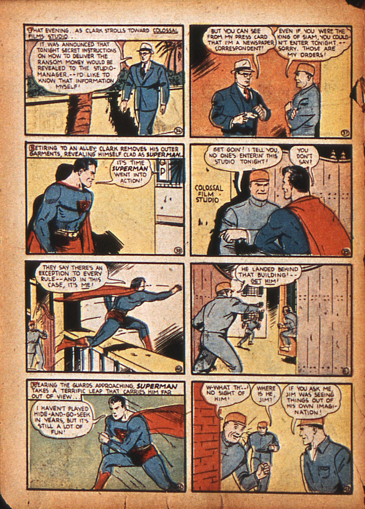 Action Comics (1938) 20 Page 8