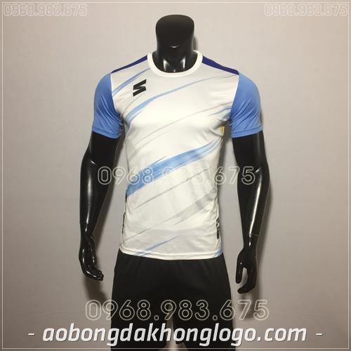 Áo bóng đá không logo TL Zavikia  màu trắng