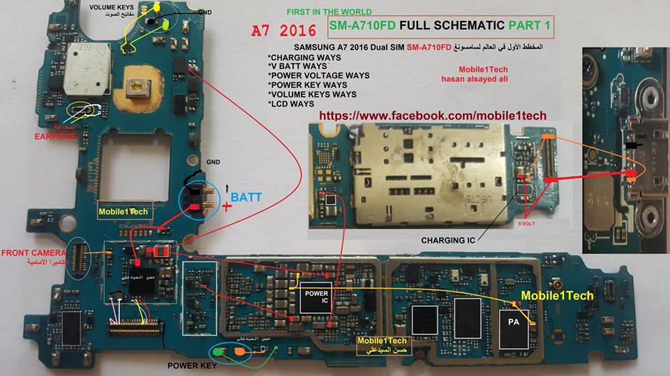 SMA710FD full schematic