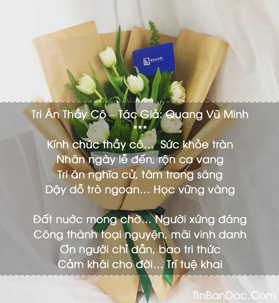 Thơ 20/11 Hay, Chùm Thơ Ngắn Hay Ngày Nhà Giáo Việt Nam 20/11