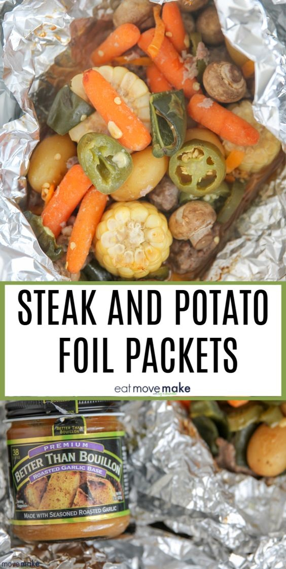 Easy Steak and Potato Foil Packet Dinners on the Grill