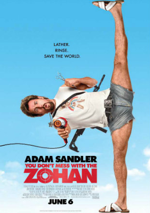 You Don't Mess with the Zohan 2008 BRRip 1080p Dual Audio In Hindi English