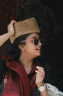 Keerthy Suresh in Maroon and Black Dress with Cute and Awesome Lovely Expressions