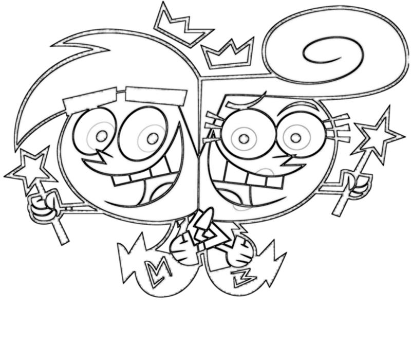 Fairly Odd Parents Coloring Pages | Coloring Pages Gallery