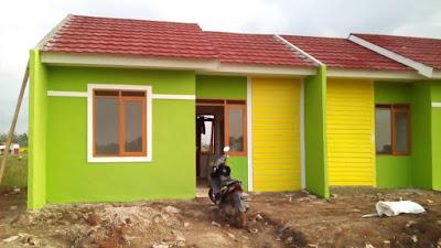 Rumah murah di cikarang utara program jokowi Dp cuma 1,5 jutaan