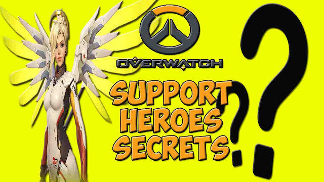 5 Hot Secrets about Overwatch Support Heroes