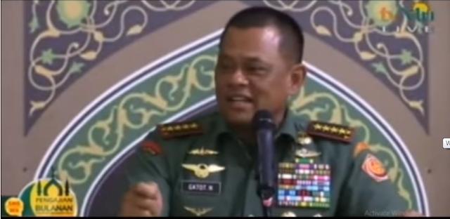 "Pidato Heroik Panglima TNI: ""Jangan Sok-Sokan Seolah yang Memerdekakan Indonesia"""