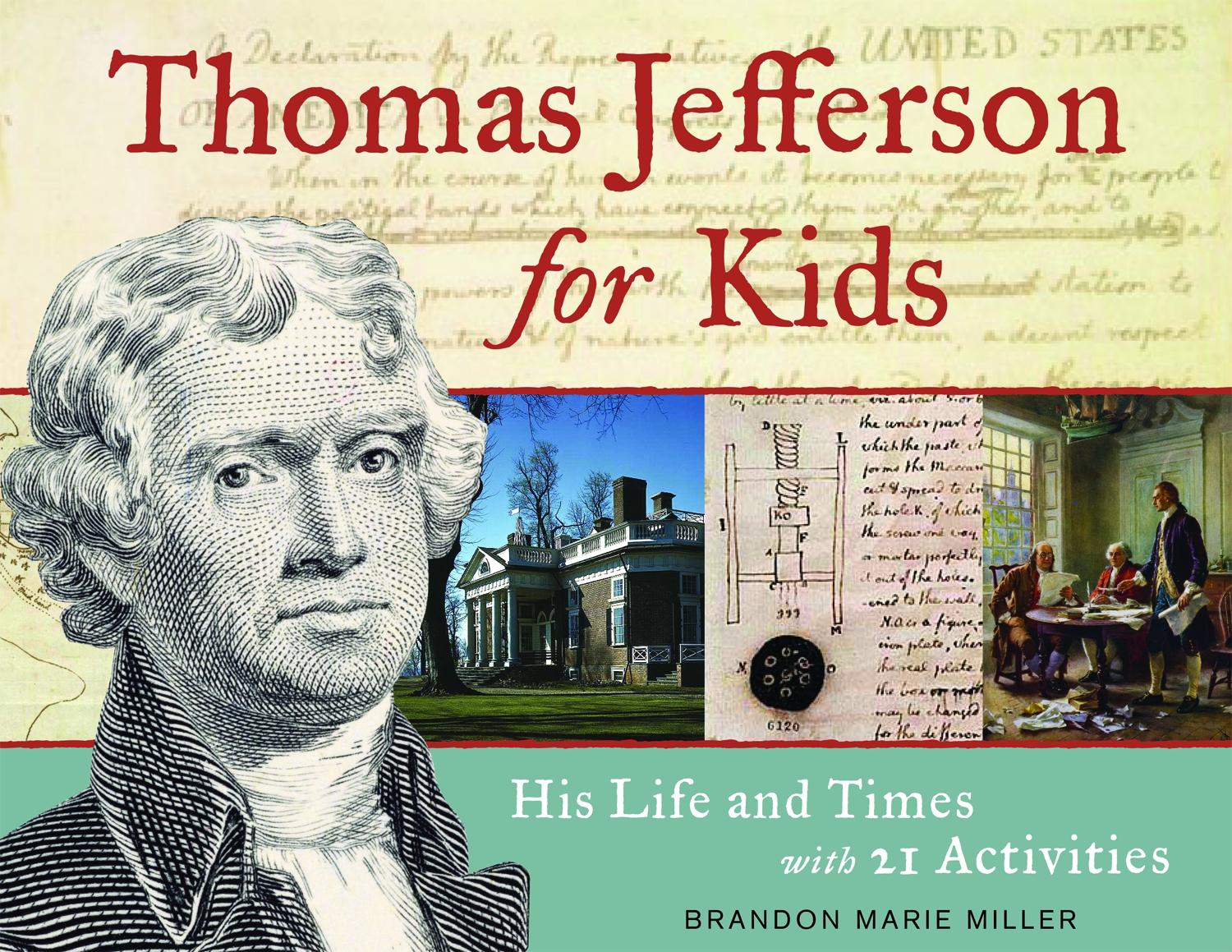Hands On Books Nonfiction For Kids With Fun Activities July 4 Thomas Jefferson S