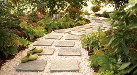 A Simple Gravel Garden Path Is Super Easy To Do As DIY Project 7 Brick Really Make For