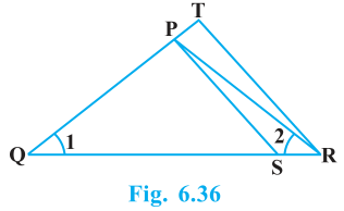 Triangles Exercise 6.3 Question No. 4