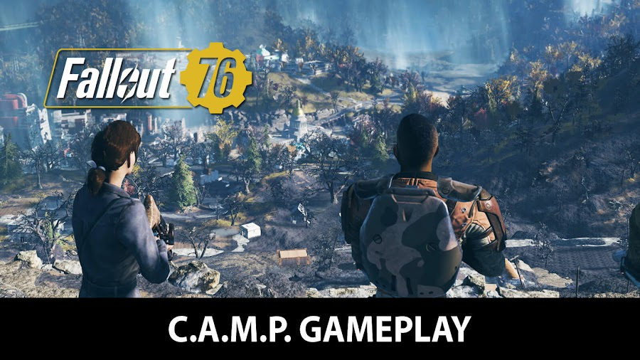 fallout 76 camp gameplay trailer