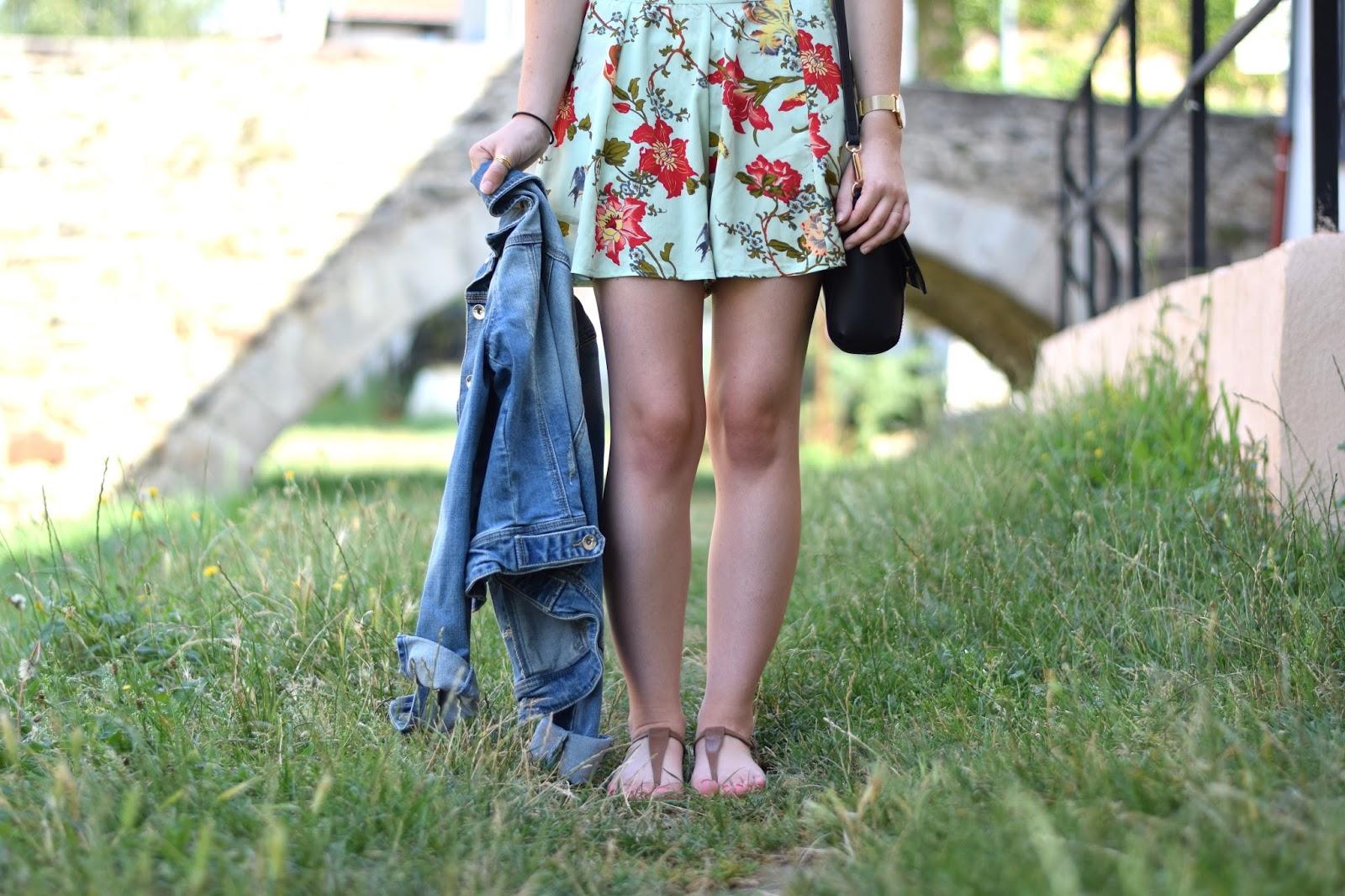 veste en jean summer outfit texto bdm studio