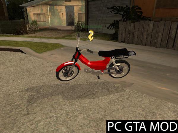 Free Download  Shineray  Mod for GTA San Andreas.