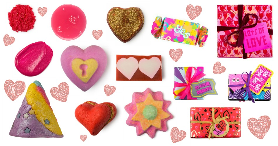 an image of lush valentines day collection 2015