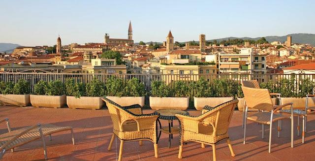 Hotel Continentale em Arezzo