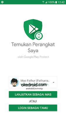 Find My Device (Temukan Perangkat Saya) hp android