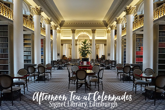 Afternoon Tea at Colonnades in the Signet Library