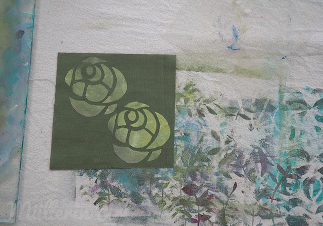 Schablonen- und Siebdruck nach ©Müllerin Art