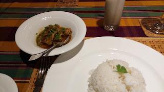 ミャンマーのポークカレー