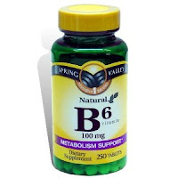 vitamina b6 para caida de cabello