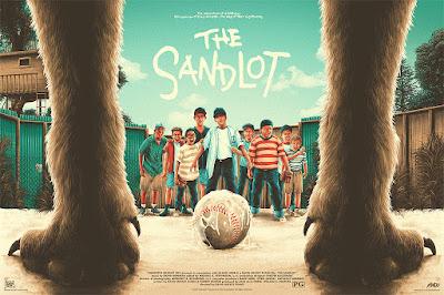 The Sandlot Movie Poster Screen Print by Matt Ryan Tobin x Mondo