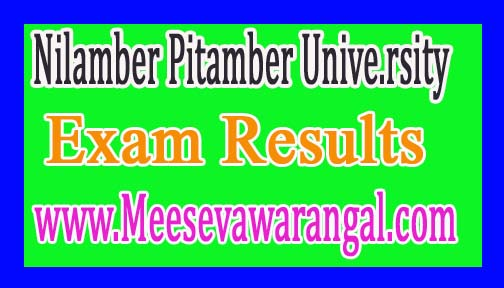 Nilamber Pitamber University B.A Part-1 Session 2015-16 Exam Results