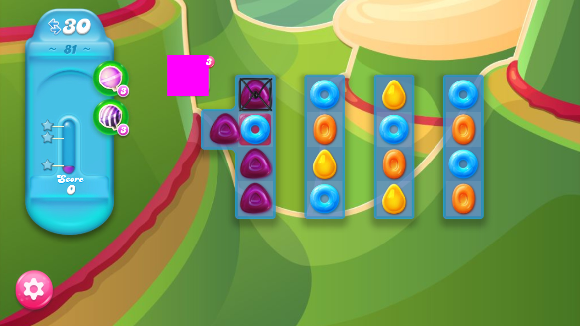 Candy Crush Jelly Saga 81