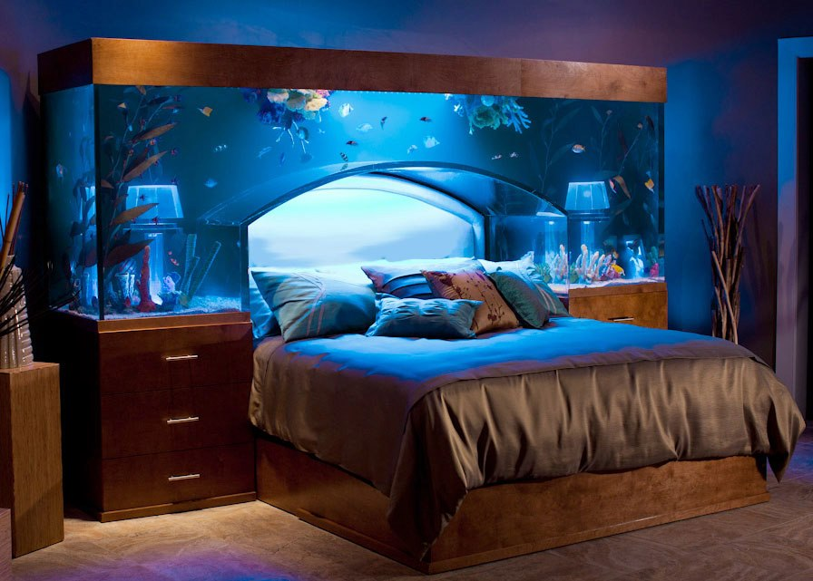 Unusual Places In Your Home For Fish Tanks   Introspective World