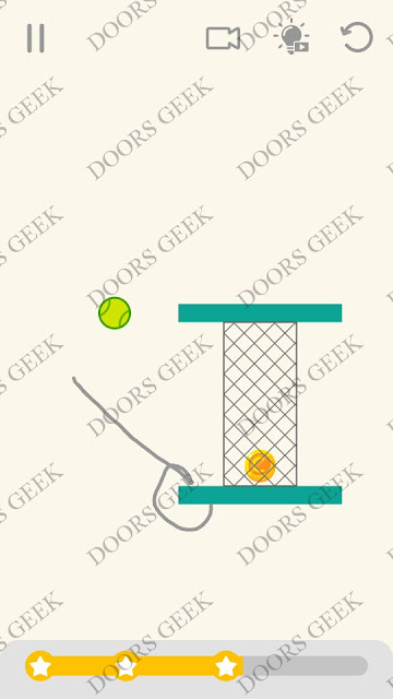 Draw Lines Level 59 Solution, Cheats, Walkthrough 3 Stars for Android and iOS