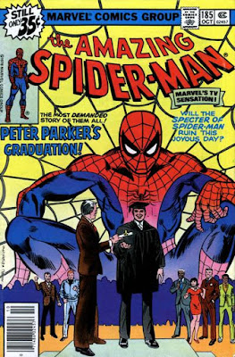 The Amazing Spider-Man #185, peter parker graduates