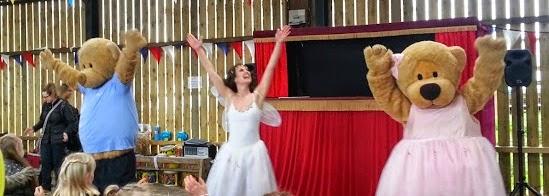 Baby Ballet Bears and Ballerina