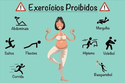 exercícios proibidos