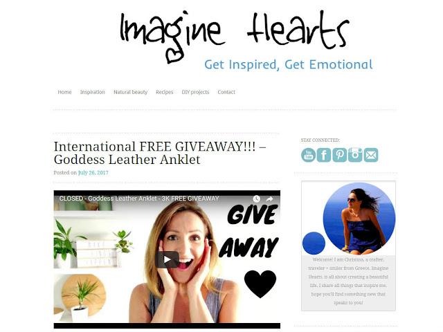 Παρουσίαση ιστολογίου Imagine Hearts