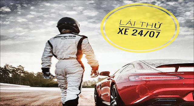 Đăng ký lái thử xe 24/7 tại đại lý Mercedes