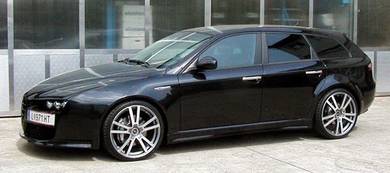story of car modification in worldwide alfa romeo 159. Black Bedroom Furniture Sets. Home Design Ideas