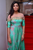 Anisha Ambrose sizzles in cute Green Anarkali Dress at Fashion TV F Club Saloon Launch ~  Exclusive 028.JPG