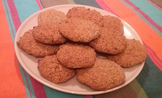 Receta de galletas integrales de avena y salvado de trigo ricas y fáciles