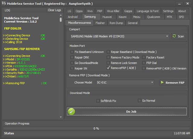 Mobilesea Service Tool V3.0.3 crack