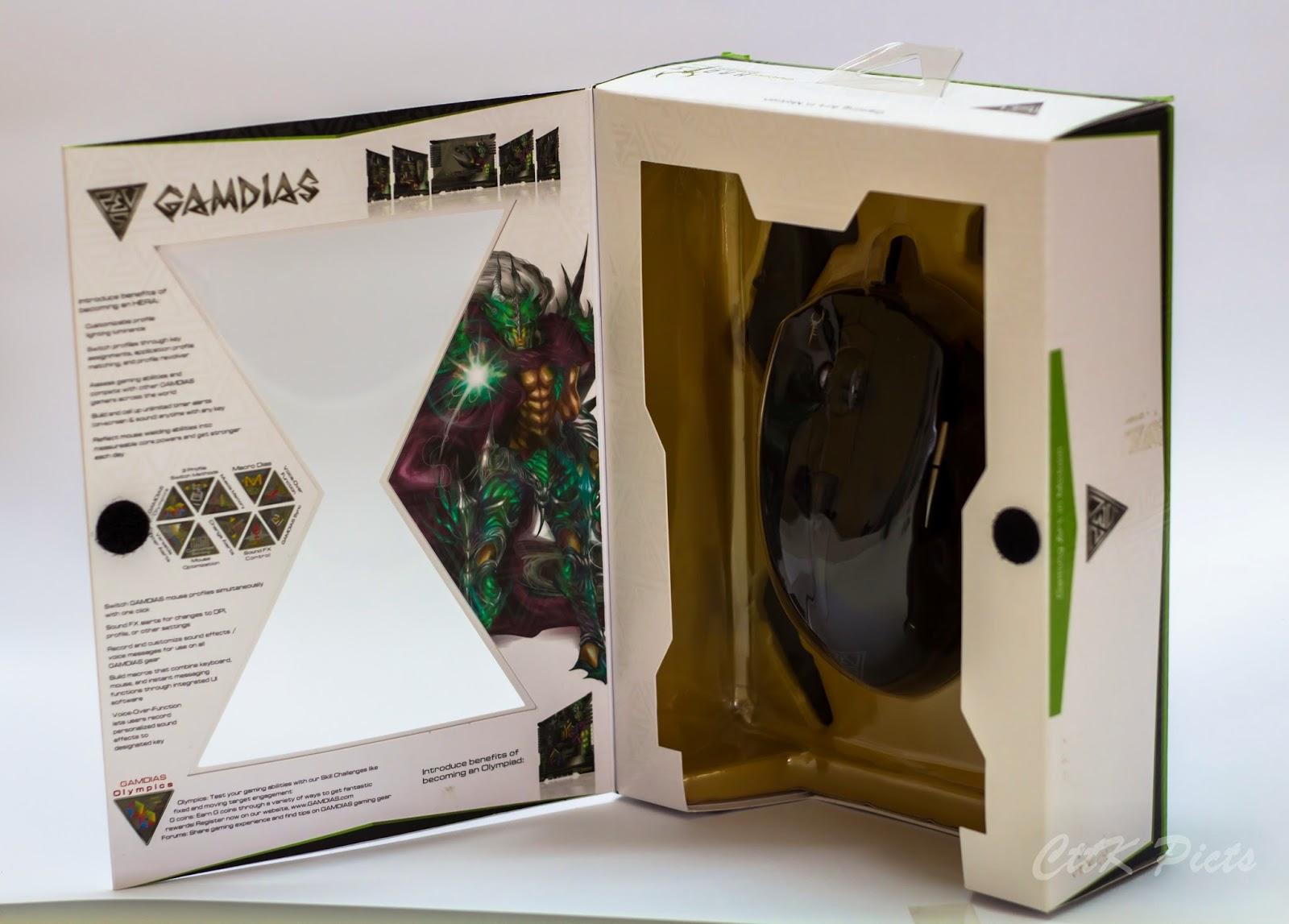 Gamdias Hades Extension Optical Gaming Mouse 56